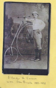 Star bicycle circa 1883-1890